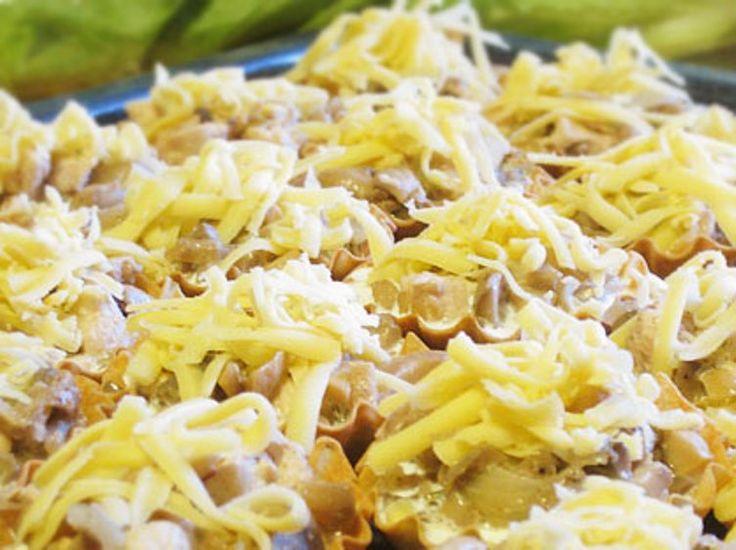 Тарталетки с курицей и грибами - пошаговый кулинарный рецепт с фото на Повар.ру