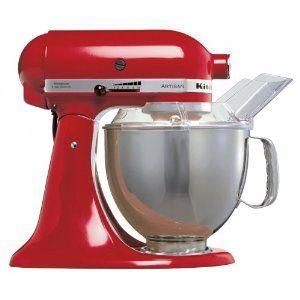 KitchenAid Artisan KSM150BER Stand Mixer Red: Amazon.co.uk: Kitchen & Home
