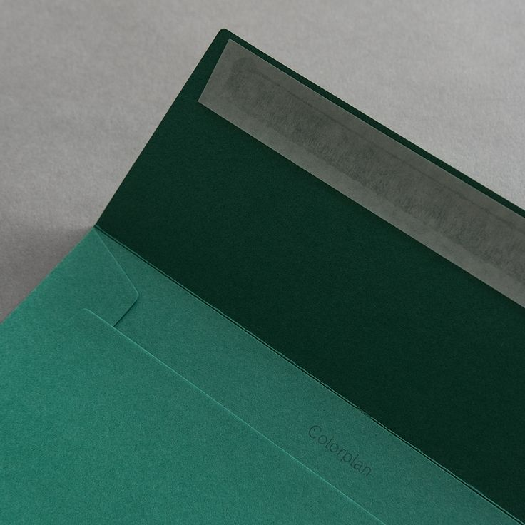 Colorplan Hüllen DIN C5 Smaragdgrün