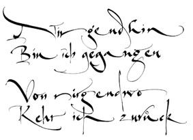 Design & Kalligrafie von Katharina Pieper - Auftragsarbeiten