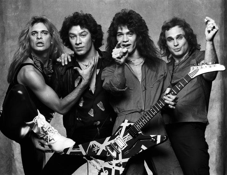 David Lee Roth, Alex Van Halen, Eddie Van Halen and Michael Anthony