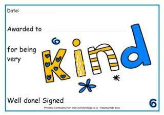 Free Printable Certificates for Kids.  Many other items.