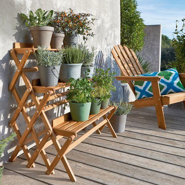 Salon de jardin acacia ou teck - Fin de serie salon de jardin ...