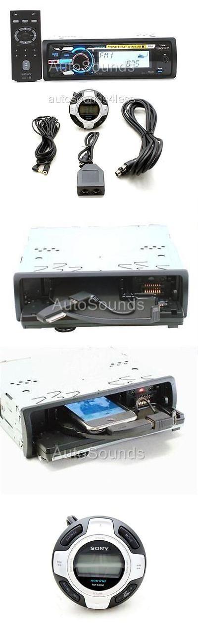 Marine Audio: Sony Dsx-Ms60 Marine Mp3/Wma/Usb Digital Media Player + Rm-X60ml Wired Remote BUY IT NOW ONLY: $179.0