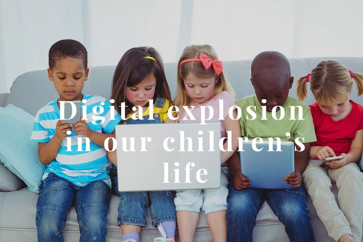 Digital world develops so fast that the new wave of information and data leaves us confused- we have no clue how it affects us and especially our children. #children # digital #development http://digital-kids.ch/digital-explosion-in-childrens-life/