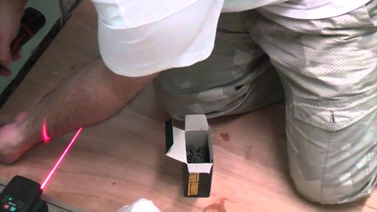 Before tiling a floor it is often necessary to strengthen the floor using a sheet material such as WBP plywood or tile backer board. This video demonstrates ...