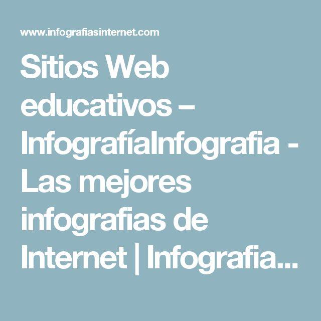 Sitios Web educativos – InfografíaInfografia - Las mejores infografias de Internet | Infografia - Las mejores infografias de Internet