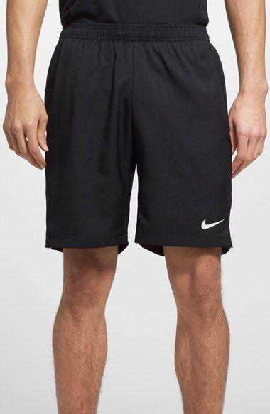 Nike 'Court' Dri-FIT Tennis Shorts, Hosen, schwarz, black, Tennis Fashion Men, trendy Tennis Outfits for him, Tennismode, sportliche Mode fürs Tennisspielen.