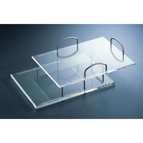 Kristal Set Of Six Document Trays Organize It All Organizers Office & Desk Accessories Hom