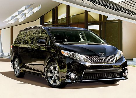 "2013 Toyota Sienna mini van     Might get to my dealership and see if they can ""loan"" me a Sienna.   I love Toys"