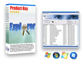 Product Key Finder for Windows, Office, Adobe and +4800 more programs http://www.nsauditor.com/product_key_finder.html  Product Key Explorer is the best product key finder software for recovering and finding product keys to over +4800 programs: Windows 8, Windows 7, Windows XP, Microsoft Office, Adobe CS6, CS5, CS4, CS3, Acronis, Electronic Arts games, WinZip, Nero and more...