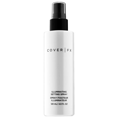 Cover FX Illuminating Setting Spray Just Dangerous for Shimmer Addicts!