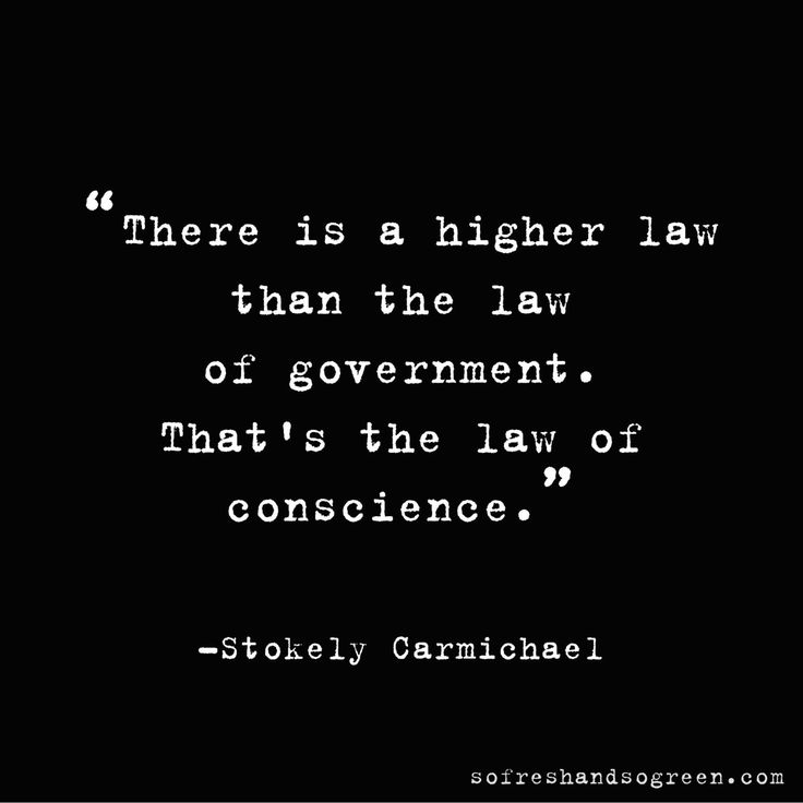 A quote from Stokely Carmichael (Kwame Ture)
