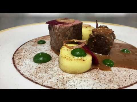 Watch The Lantern Restaurant cook rump of beef & braised shin - YouTube