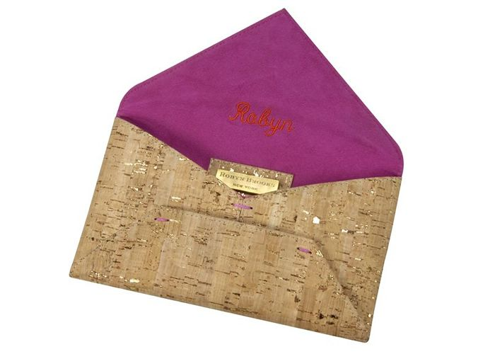 Monogrammed Clutch : Robyn Brooks New York, The 2012 Fall/Winter Collection  Is Here!