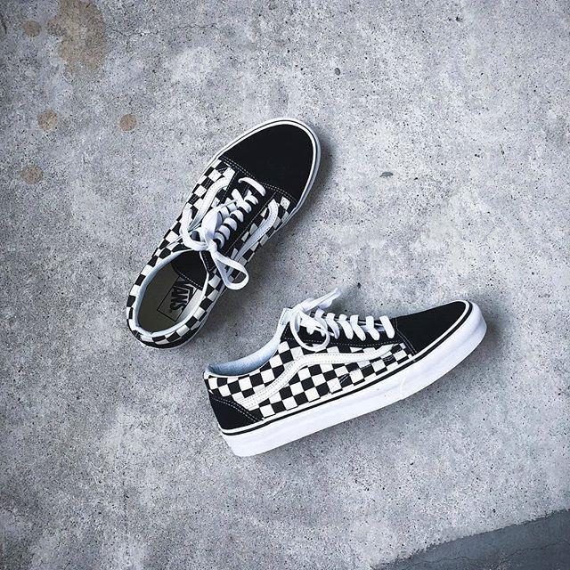Vans old skool, Vans checkerboard, Vans
