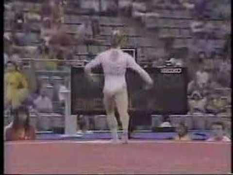 Kim Zmeskal - 1992 Olympics AA - Floor Exercise  Obessed at age 8