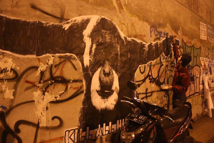 #wheatpaste #killallhumans #bintaro #komuce
