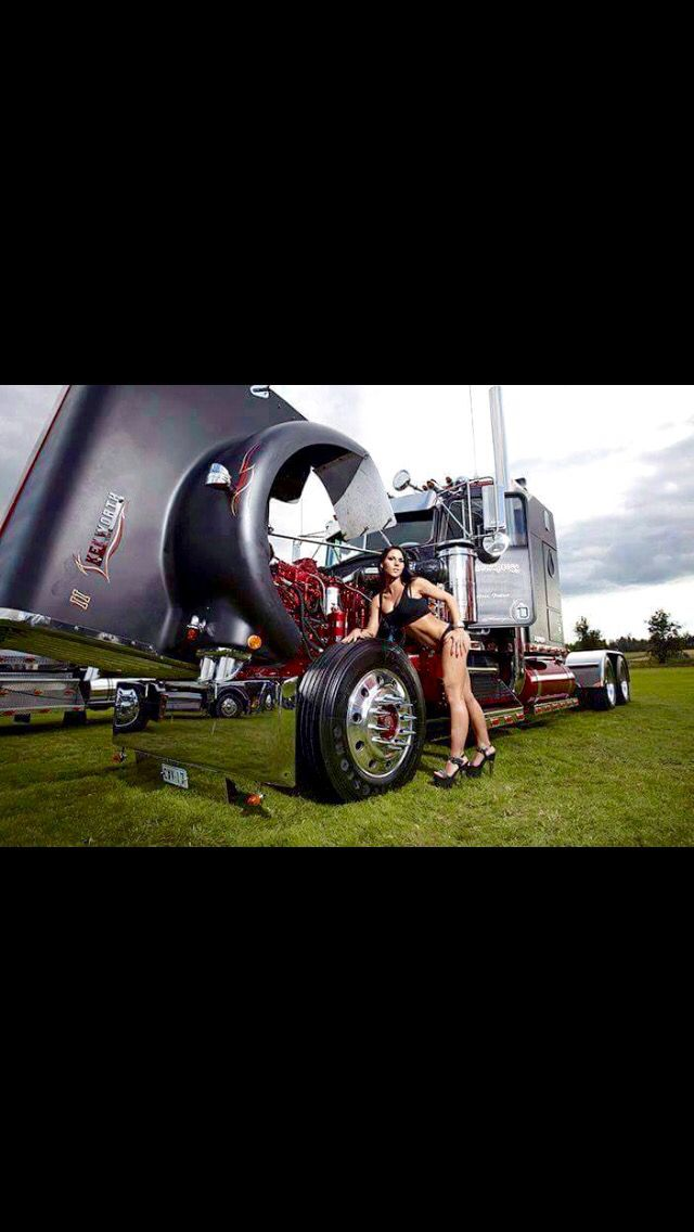 Kenworth Old School Trucking Pinterest
