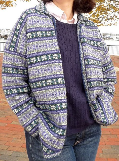 #06 Fair Isle Cardigan by Alice Starmore
