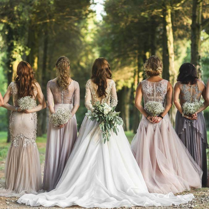 d675b0998b16f Mismatched Bridesmaid Dresses: 8 Ways to Flawlessly Achieve the Look