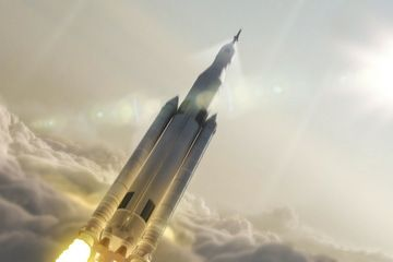 NASA's New Space Launch System Mega Rocket Won't Fly Until 2018 by Miriam Kramer, Space.com Staff Writer   |   12/10/14 Artist's Concept of Space Launch System