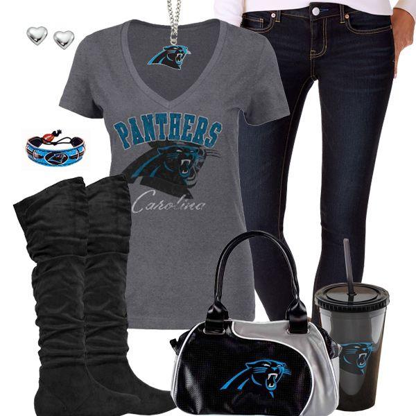 Carolina Panthers Fashion - Trendy Chill Panthers Fan