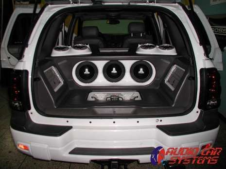 2002 Chevrolet TrailBlazer | Car Audio Custom installs ...