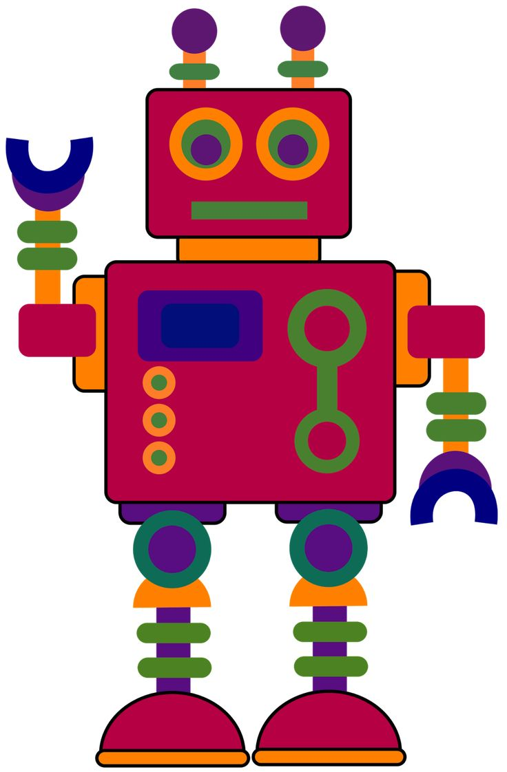 126 best Robots images on Pinterest | Robot, 4th grade math and ...