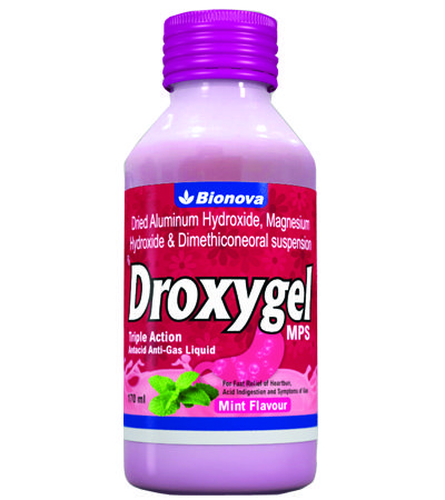 Get relief from burning sensation in the chest, gastric discomfort, antacid. Bionova offers medicine for acidity. DROXYGEL is formulated for stomach cure. http://www.bionova.co.in/droxygel.html