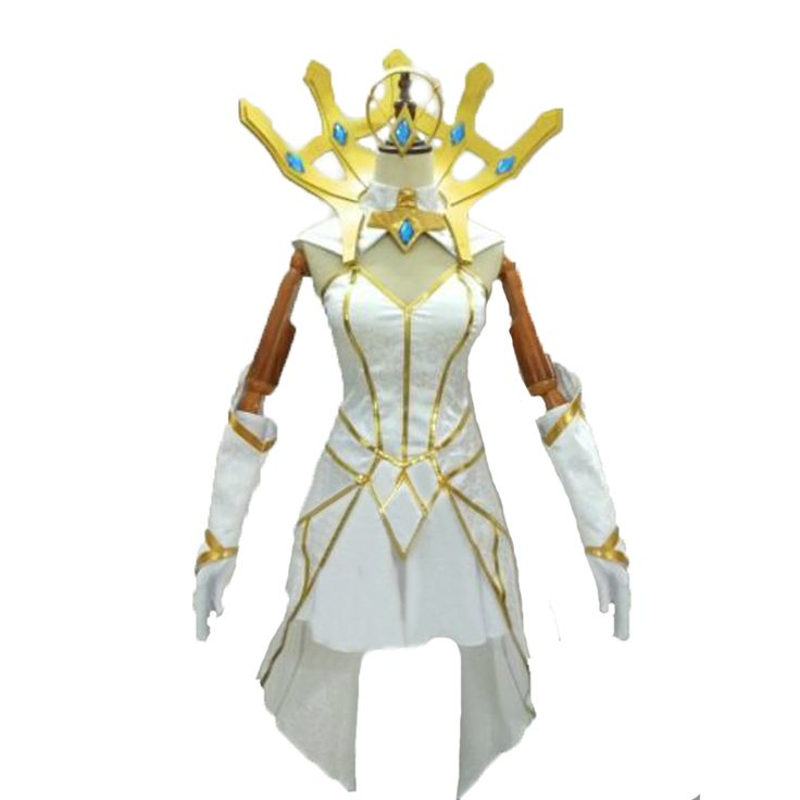 >> Click to Buy << Lux from LOL cosplay costume with accessory Luxanna Crownguard The Lady of Luminosity Elementalist #Affiliate