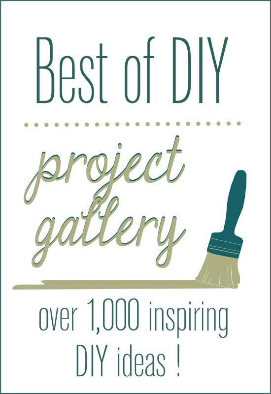A fabulous resource! All the best DIY Home Decor projects from around the web, rounded up in one place!
