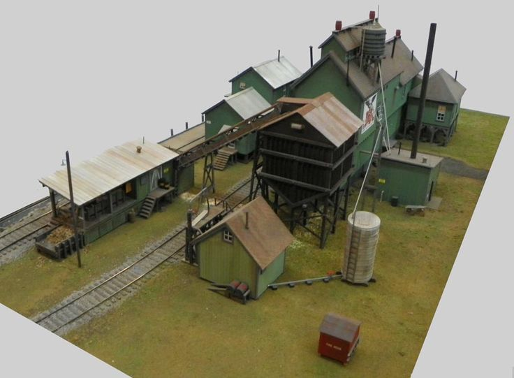 Hyde Pulp Mill in O Scale