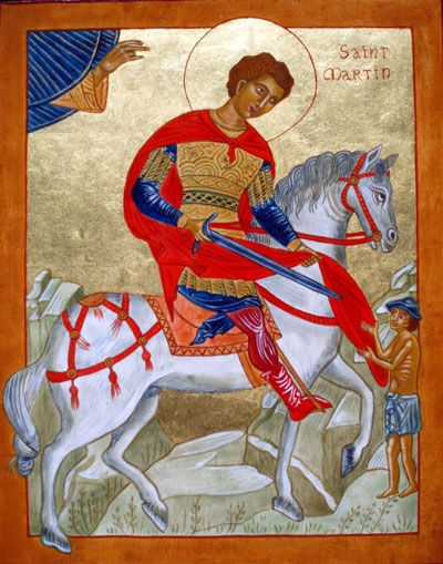 St Martin De Tours Patron Saint Of
