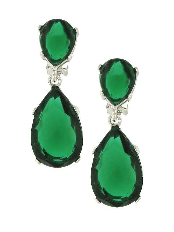 Kyle Richards ~ Jennifer Miller ~ faux emerald earrings. I thought Kyles earrings were real, but apparently you can get them for $135.00.