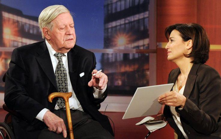 Dauergast:  Altkanzler Helmut Schmidt war eigentlich kein besonderer Freund...