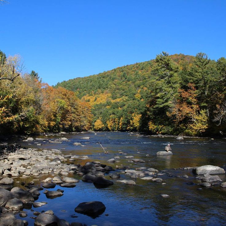Housatonic River in Cornwall, Connecticut. #River #Connecticut