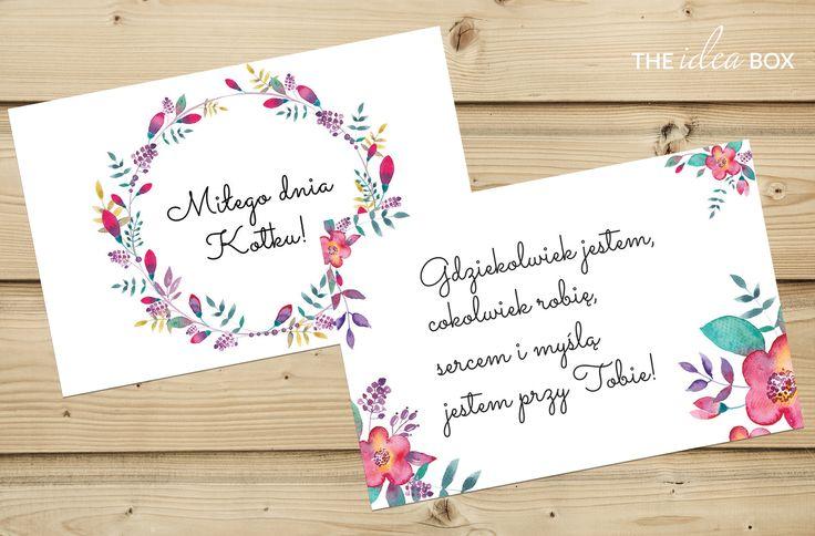 FREE Kolorowe liściki miłosne, które zaskoczą Twoją drugą połówkę. Okaż swoją miłość :)