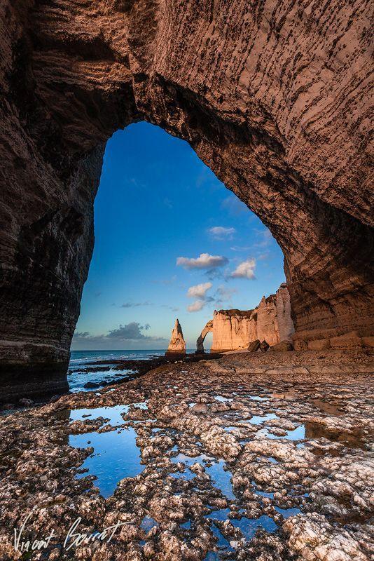 The Ark and the Needle ~ Falaises d'Etretat, Normandie, France by Vincent BOURRUT