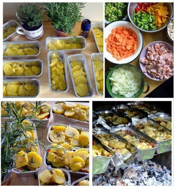 Zapiekanka ziemniaczana z grilla - Koniecznie zrób taką na obiad!!!