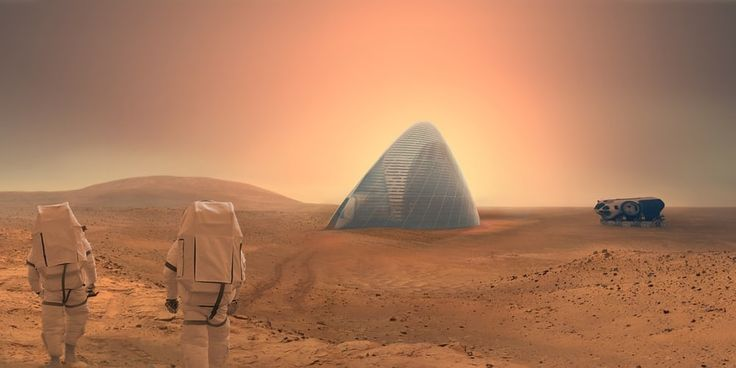 """3D printing Martian habitats from the ground up. NASA and the University of Central Florida (UCF) are investigating how metals could be extracted from the Martian soil, refined, and used as """"ink"""" to 3D print vital components."""