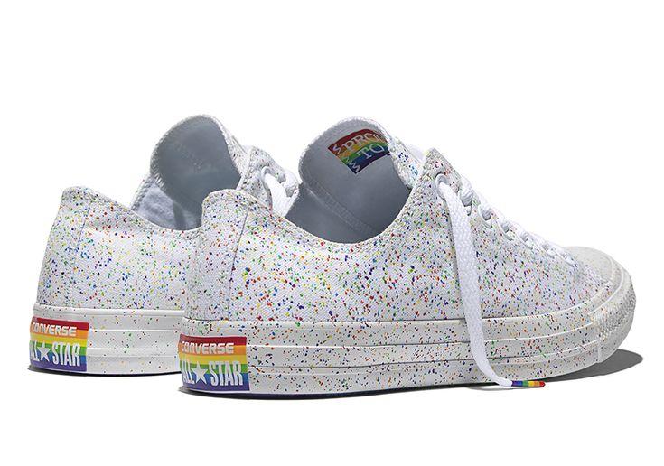Rainbow Colored Chucks - 2016 Pride Collection SneakerNews.com