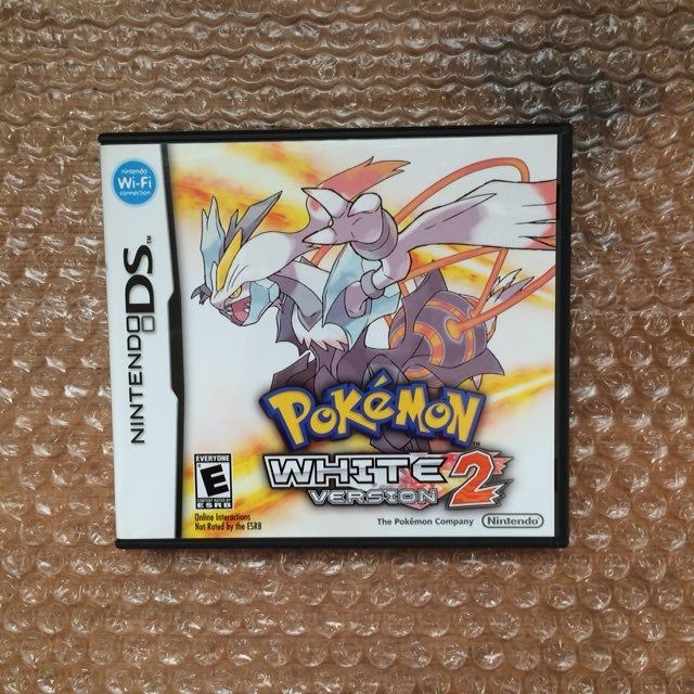 Up For Sale Is A Copy Of Pokemon White 2 For The Nintendo Ds This Game Will Play On Any Of The Ds Or 3ds Family Of Handhelds Pokémon White Pokemon