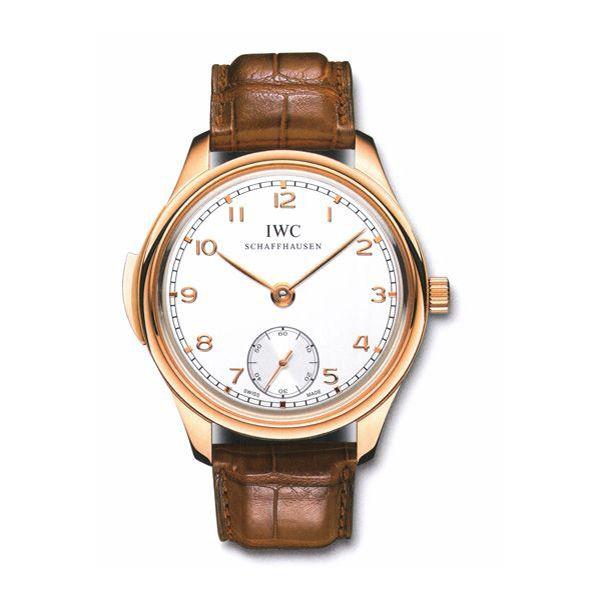IWC Portuguese Minute Repeater Manual Wind Rose Gold Mens Watch IW544907
