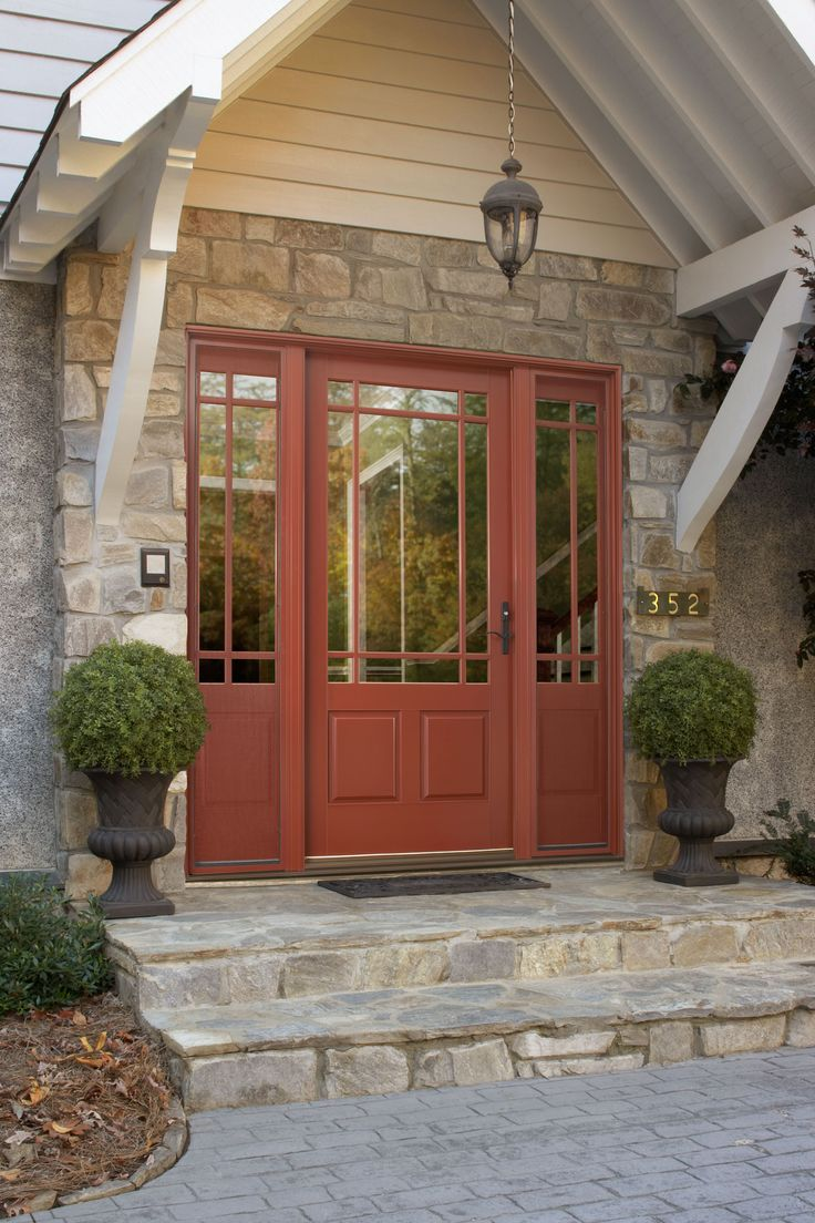 Ashworth R Entry Door With Venting Sidelites By Woodgrain