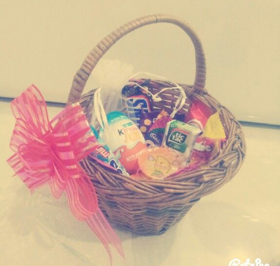 Bestfriend birthday gift basket...♥♡
