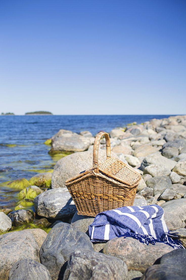 Picknick vid havet - Evelinas Ekologiska