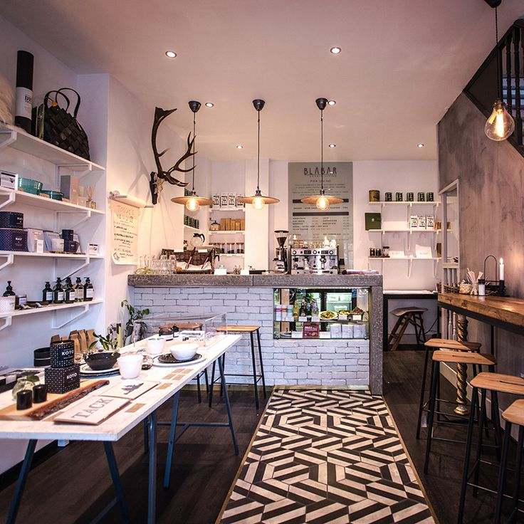 The contemporary venue is filled with vintage furniture and pieces by new designers. Not only is the food available to take away, the furniture is too