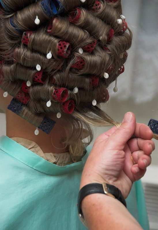79 best Nice curled set images on Pinterest  Rollers in
