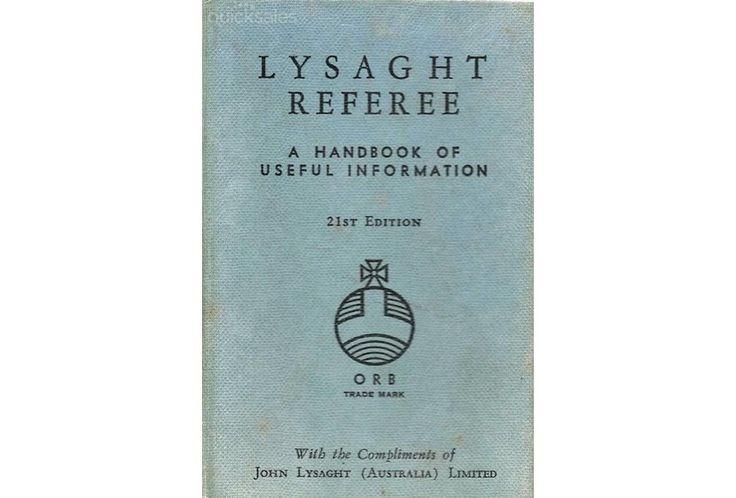 Lysaght Referee